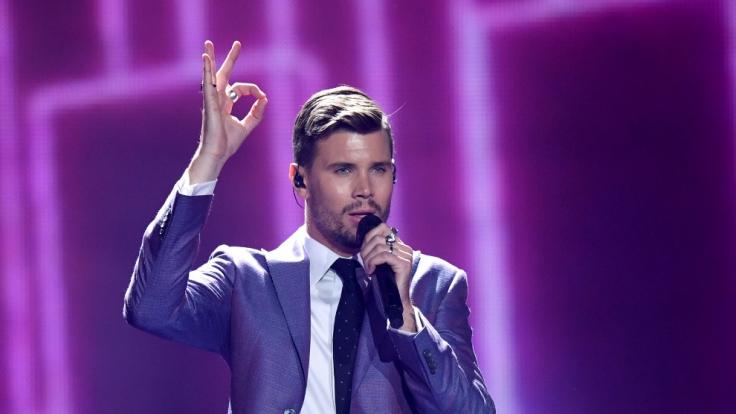 Robin Bengtsson singt für Schweden