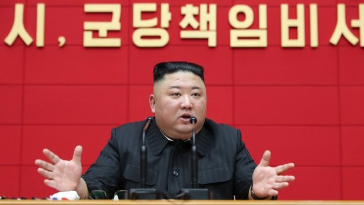 Kim Jong-un macht seine Atomraketen scharf. (Foto)