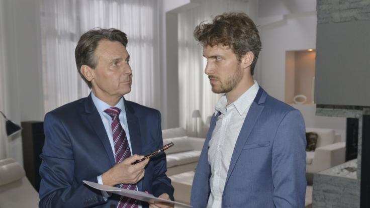 Während eines Streits zwischen Jo Gerner (Wolfgang Bahro) und Felix (Thaddäus Meilinger) kommt es zu einem dramatischen Zwischenfall... (Foto)