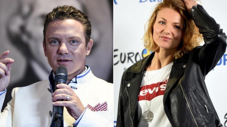 Stefan Mross und Ella Endlich trauern um einen toten Fan. (Foto)