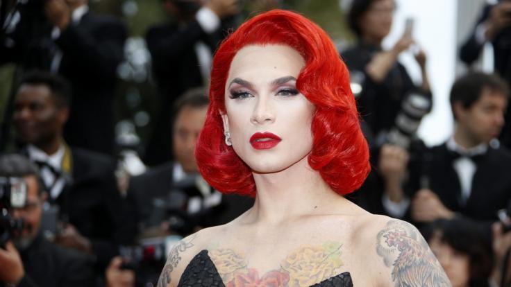 Miss Fame im Jahr 2016 bei den Filmfestspielen in Cannes.