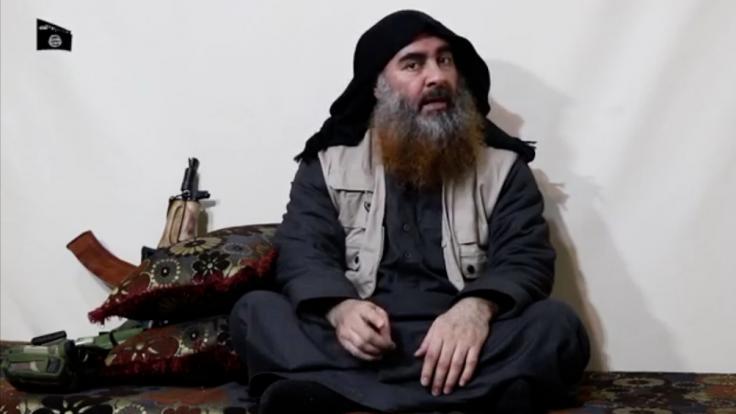 Abu Bakr al-Bagdadi, der Anführer der IS-Terrormiliz, in einer undatierten Videoaufnahme. (Foto)