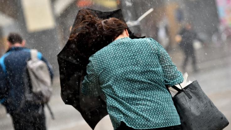 Tief Xavier sorgt für ungemütliches Herbstwetter. (Foto)