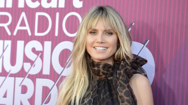 Heidi Klum freut sich über dieAuszeichnung als beliebteste TV-Jurorin.
