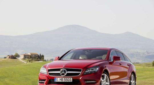 Die besten Bilder zu Mercedes CLS Shooting Brake: Kombi - fein gemacht (Foto)