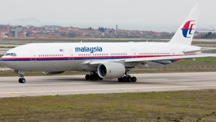 Die Boeing 777-200 der Fluggesellschaft Malaysia Airlines verschwand am 8. März 2014. (Foto)