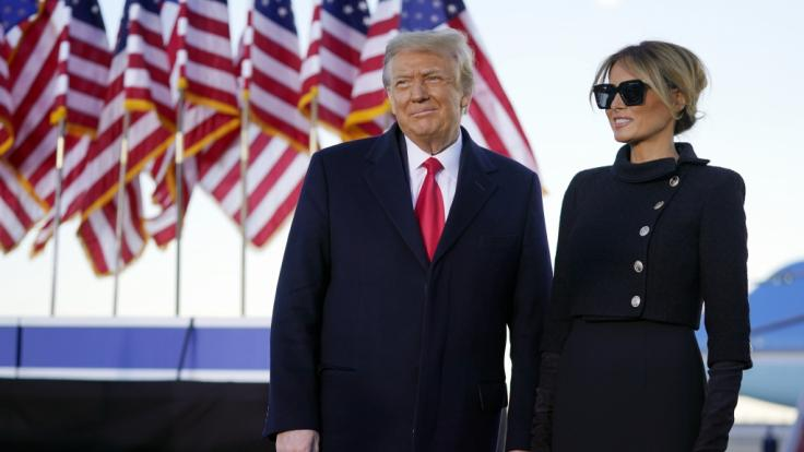 Wie steht es wirklich um die Ehe von Donald und Melania Trump? (Foto)