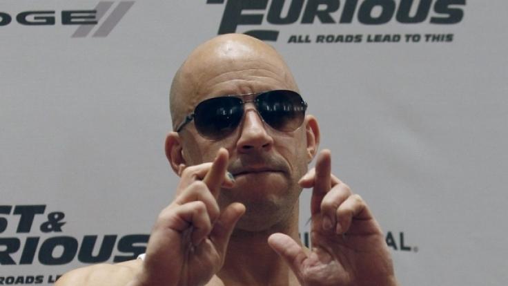 Vin Diesel: Im Kino mimt er den harten Kerl.