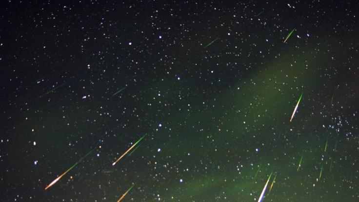 Hobbyastronomen dürfen sich auf das Orioniden-Maximum freuen. (Foto)
