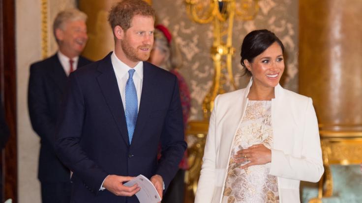 Meghan Markle und Prinz Harry stehen sich als Ehepaar sehr nahe - doch es gibt einen anderen Mann in Herzogins Meghans Leben. (Foto)