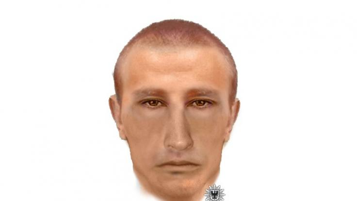 In Brandenburg wurde eine Joggerin vergewaltigt. Nun sucht die Polizei mit einem Phantombild nach dem Täter.