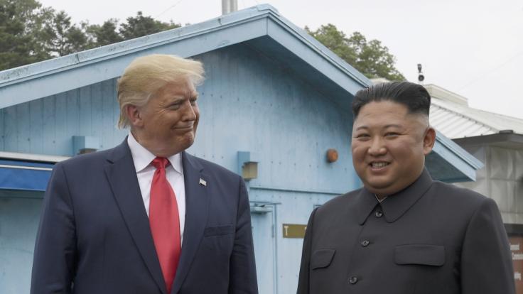 """Donald Trump ist sich sicher, Kim Jong Un ist """"sehr gesund"""". (Foto)"""