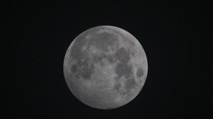 Am 10.01.2020 ist eine Halbschatten-Mondfinsternis über Deutschland sichtbar. (Foto)
