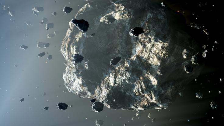 Am 29.04.2020 rauscht ein 4100-Meter-Asteroid an der Erde vorbei. (Foto)