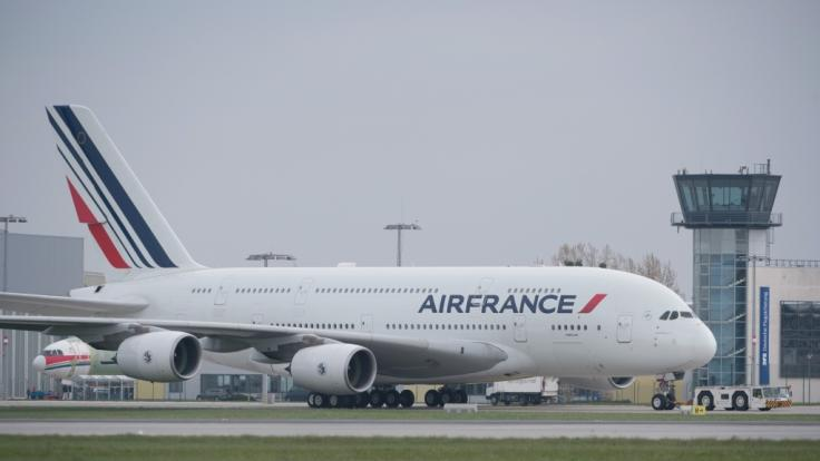 Im Fahrwerk einer Air-France-Maschine wurde eine Kinderleiche entdeckt. (Foto)