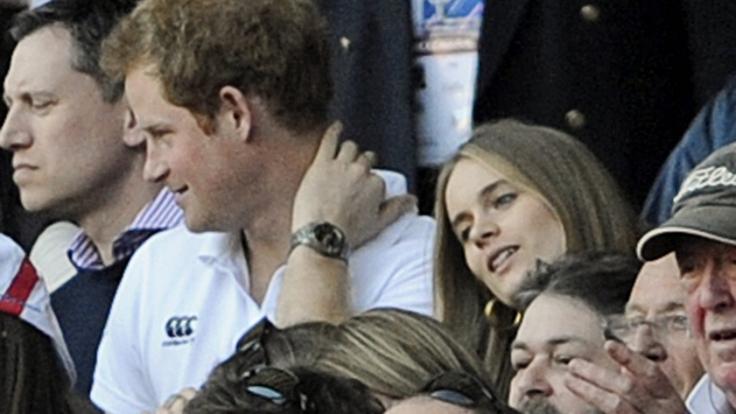 Bevor Prinz Harry Meghan Markle heiratete, war Cressida Bonas zwei Jahre lang die Freundin des Briten-Royals. (Foto)