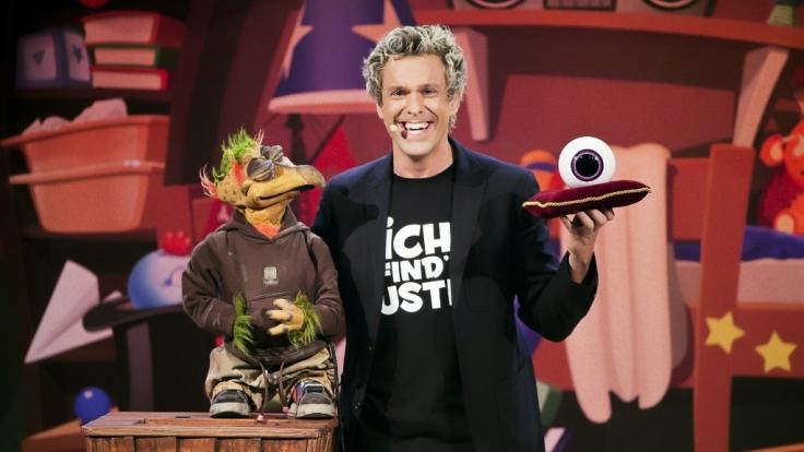 Sascha Grammel präsentiert seine neue Live-Show