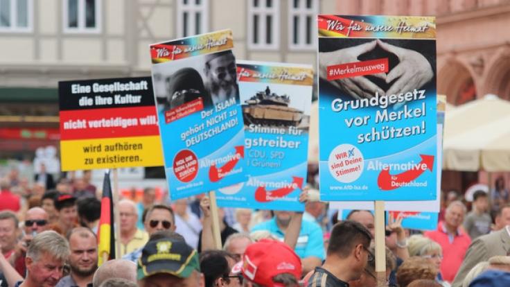 Angela Merkel und AfD-Wähler haben eigentlich nur wenige gemeinsame Schnittstellen. (Foto)