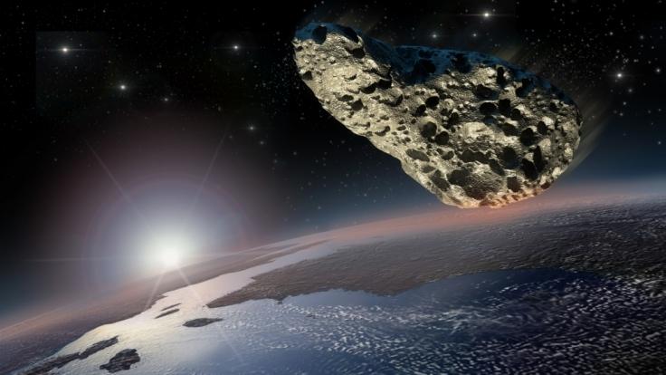 In der vergangenen Nacht schrammte ein Asteroid gefährlich nah an der Erde vorbei.