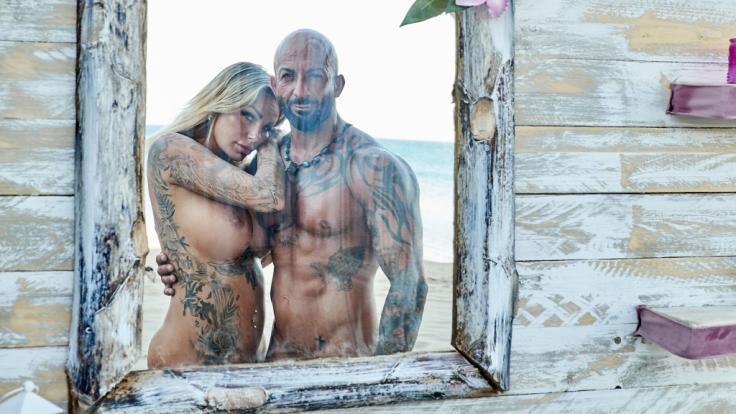 Gina-Lisa Lohfink und Antonino verlassen als Paar die Liebesinsel. (Foto)