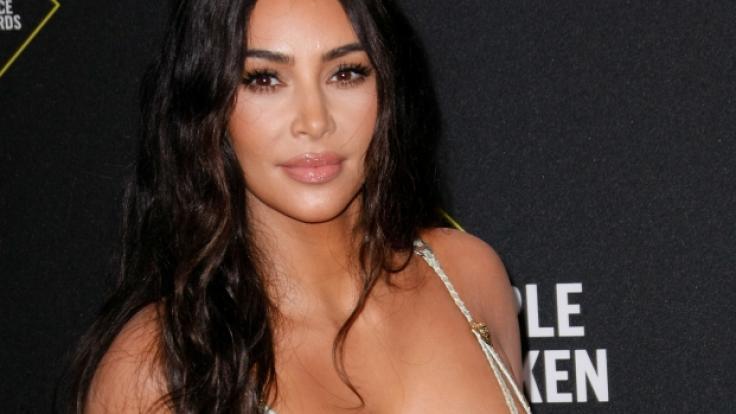 Kim Kardashian blickt auf ein spannendes Jahr zurück. (Foto)