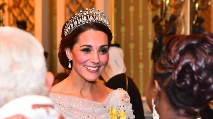 Kate Middleton ist als Mitglied der britischen Königsfamilie ein gern gesehener Gast bei glamourösen Veranstaltungen. (Foto)