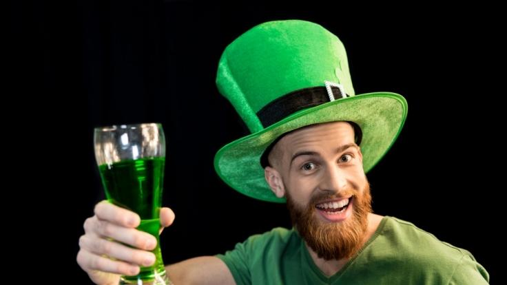 Am St. Patrick's Day erstrahlt in Irland alles grün.