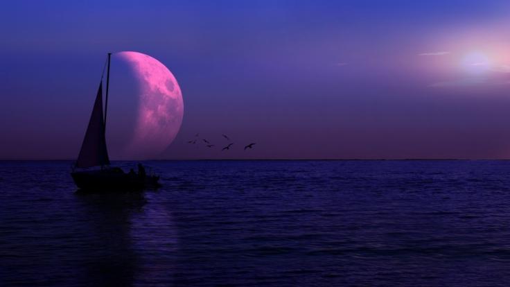 Die Halbschatten-Mondfinsternis am 23.03.20216 ist leider nicht von Deutschland aus sichtbar. (Foto)