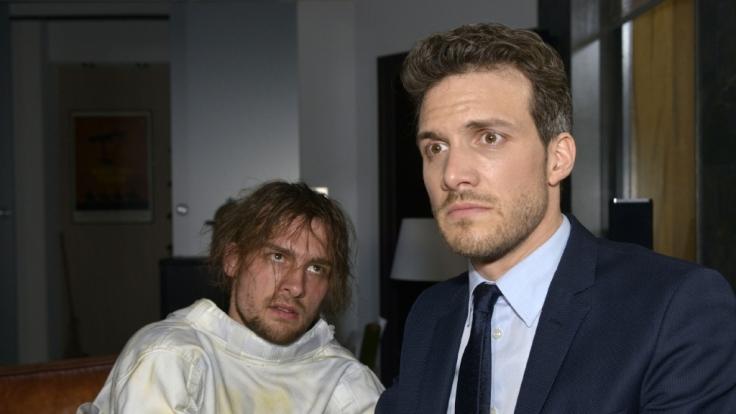 Hat die Beziehung zwischen Chris(Eric Stehfest, l.) und Felix (Thaddäus Meilinger) einen neuen Tiefpunkt erreicht? (Foto)