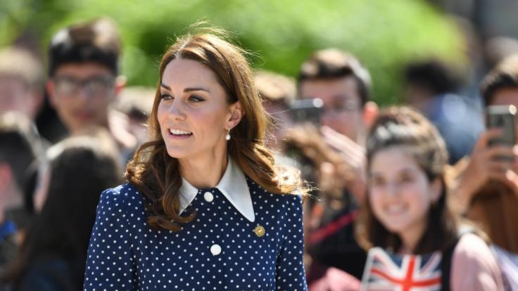 Herzogin Kate hat ein Lieblingskind.