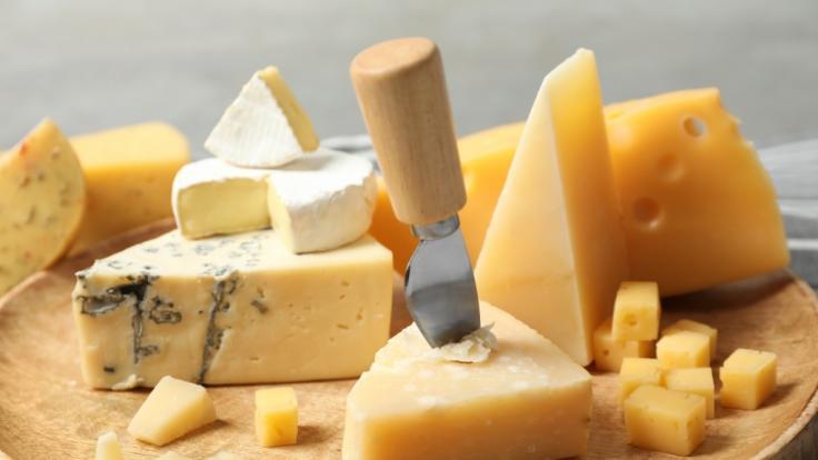 Aktuell muss ein Unternehmen Käse aus seinem Sortiment zurückrufen.