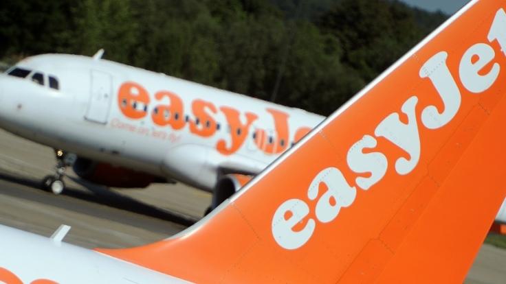 Zwischenfall bei Easyjet. Ein Flugzeug der Airline musste notlanden (Symbolbild).