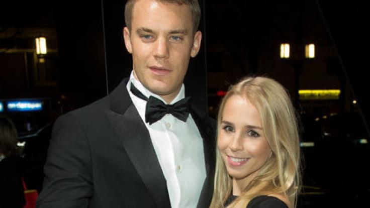 Manuel Neuer mit Freundin Nina Weiss