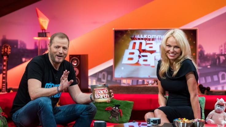 Mario Barth hat den fleischgewordenen Männertraum Pamela Anderson als Gast im