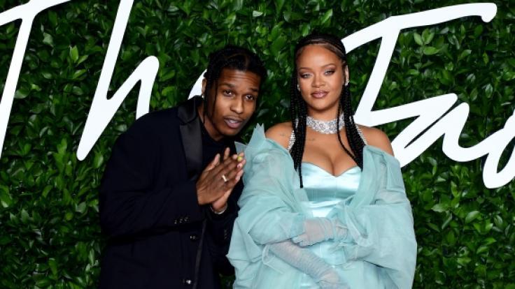 Sind Rapper A$AP Rocky und Rihanna mehr als nur Freunde? (Foto)