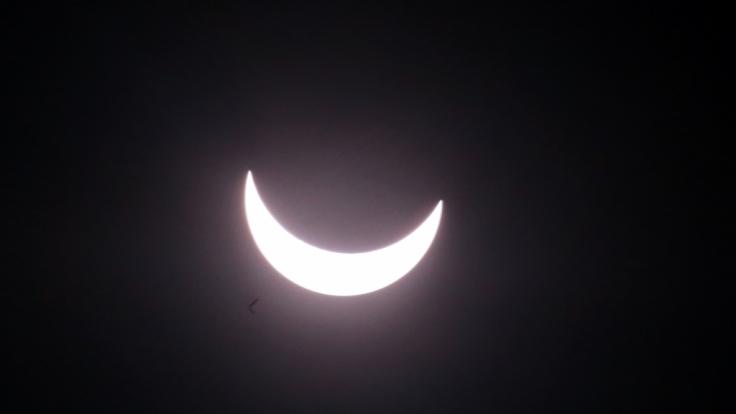 Am 15.02.2018 findet eine partielle Sonnenfinsternis statt. (Foto)