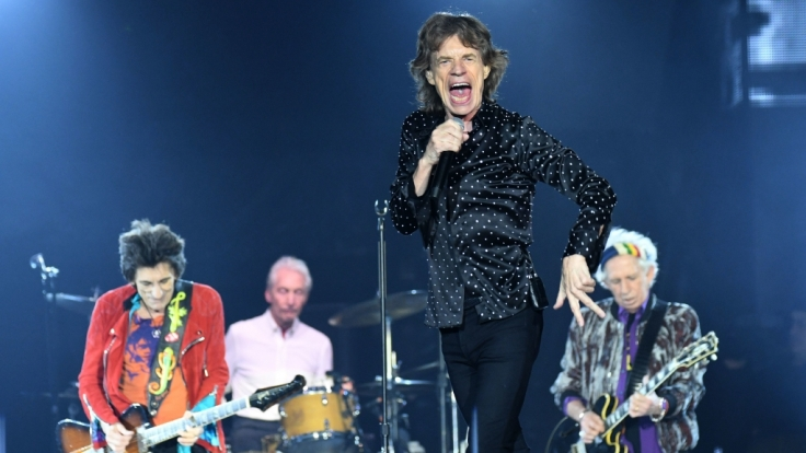 Die Rolling Stones kommen im Rahmen ihrer