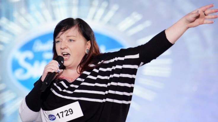 """Für DSDS-Kandidatin Cindy Klimentov war am Dienstag Vollkontakt angesagt. Alle Infos zu """"Deutschland sucht den Superstar"""" im Special bei RTL.de: https://www.rtl.de/cms/sendungen/superstar.html (Foto)"""