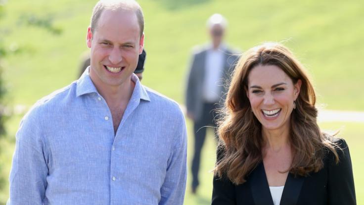 Prinz William und Herzogin Kate lernten sich beim Studium kennen.