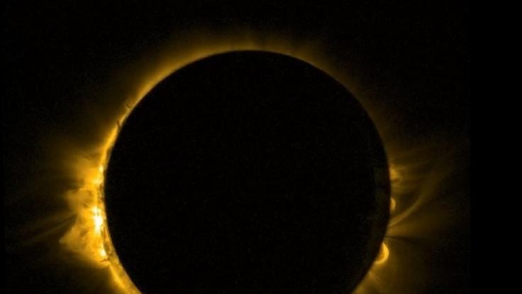 Die totale Sonnenfinsternis am 21. August 2017 ist in Deutschland nicht zu sehen.