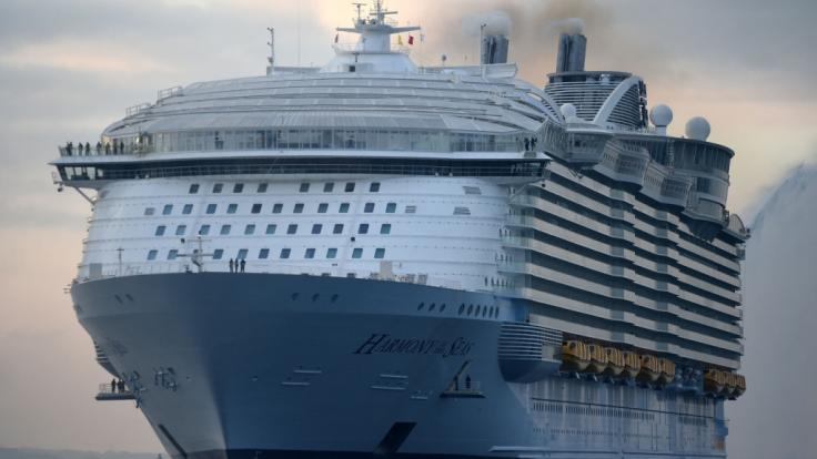 """Tödlicher Unfall auf der """"Harmony of the Seas"""". (Foto)"""