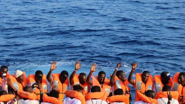 Deutschland hält an 25-Prozent-Quote für Flüchtlinge fest.