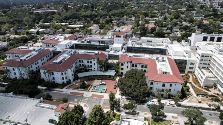 Die kleine Lilibet Diana Mountbatten-Windsor wurde im Santa Barbara Cottage Hospital in Kalifornien geboren. (Foto)