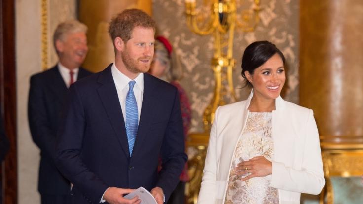 Meghan Markle und Prinz Harry wohnen offiziell nicht mehr im Kensington Palast in London. (Foto)