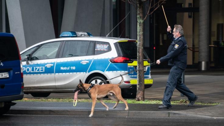 An mehreren deutschen Gerichten sind Bombendrohungen eingegangen.