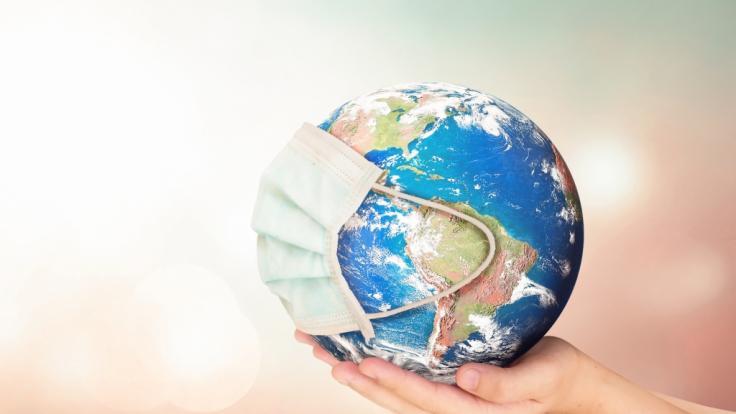 Die Corona-Hotspots weltweit.