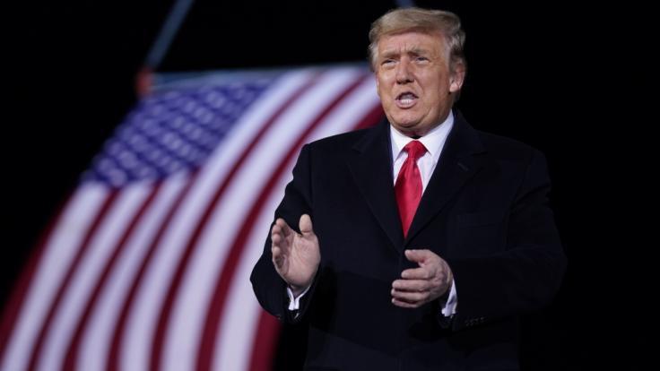So könnte Donald Trump sein Amt verlieren. (Foto)