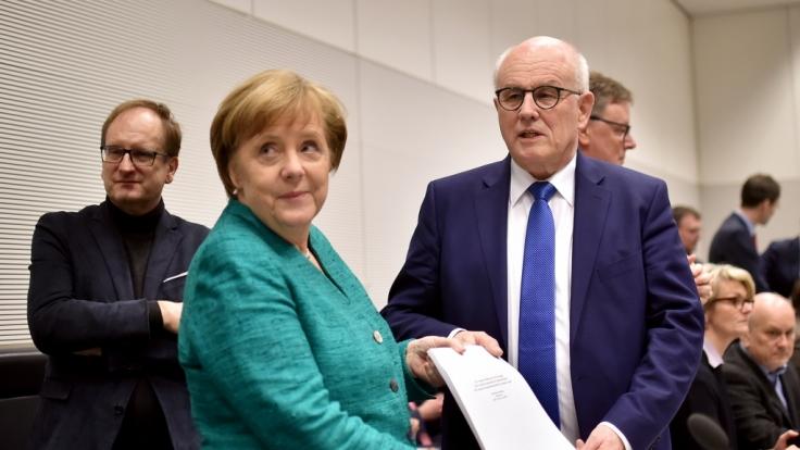 Nach 13 Tagen Verhandlungen stand der 177-seitige Koalitionsvertrag.