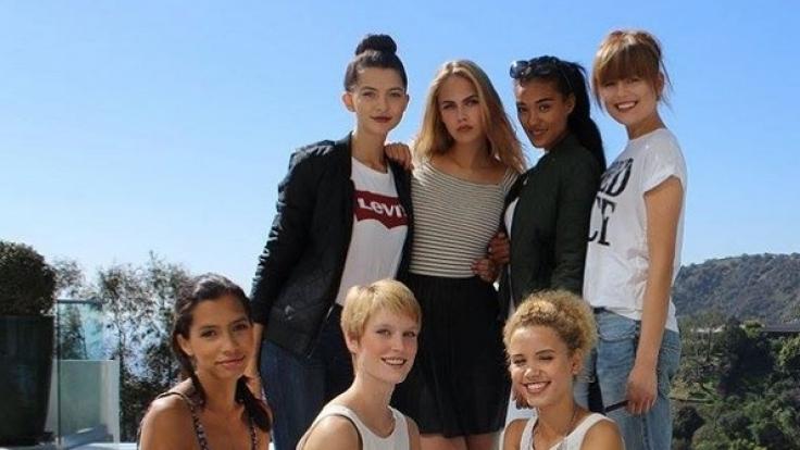 Die Top 7 der aktuellen Staffel GNTM: Lara, Fata, Kim, Elena C., Taynara, Jasmin und Elena. (Foto)
