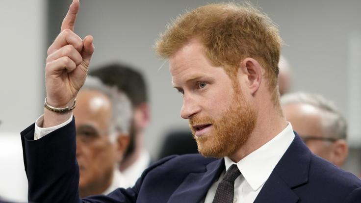 Prinz Harry warnt eindringlich vor Gefahren durch Online-Spiele und Social-Media-Plattformen. (Foto)